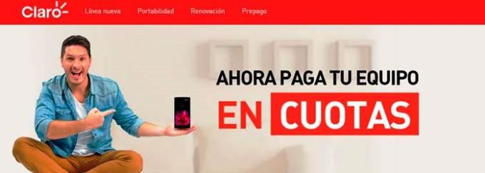 Cómo sacar tu móvil en cuotas en Claro