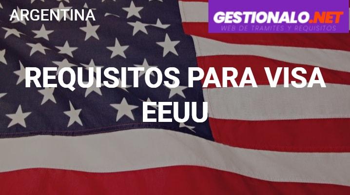 Requisitos para visa EEUU