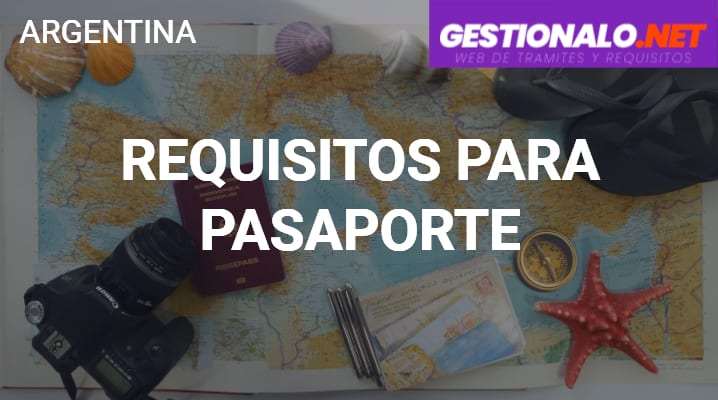 Requisitos para Pasaporte