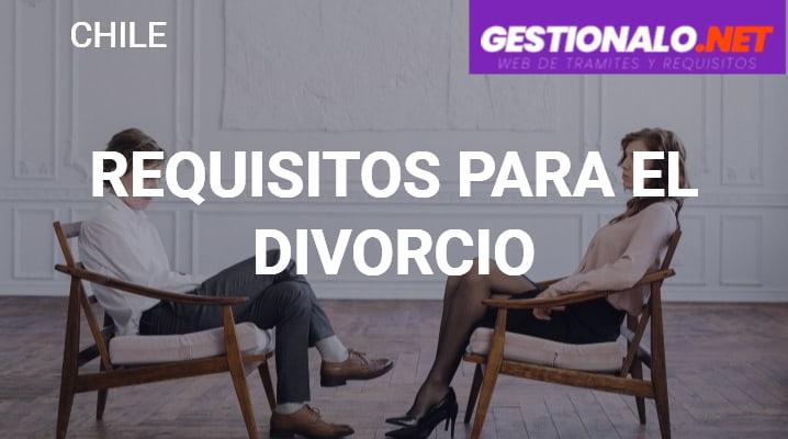Requisitos para el Divorcio
