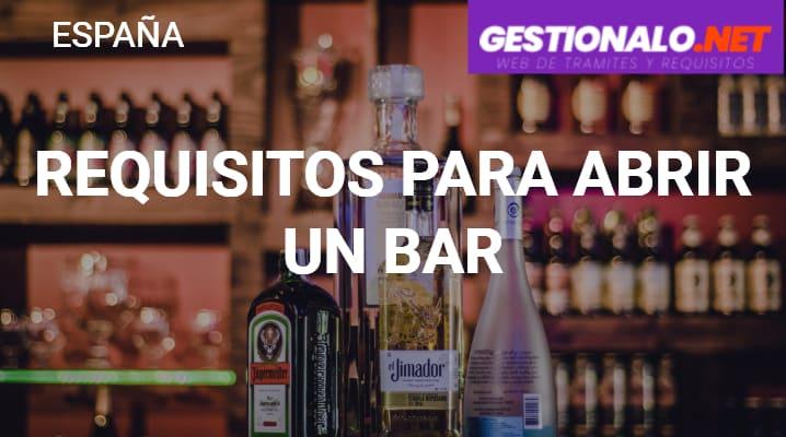 Requisitos para Abrir un Bar