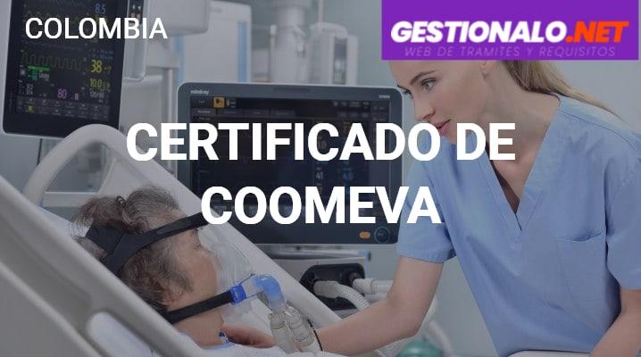 Certificado de Coomeva