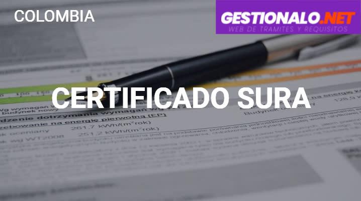 Certificado SURA