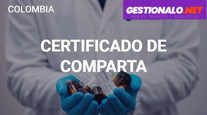 Certificado de Comparta