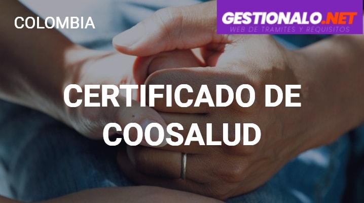 Certificado de Coosalud