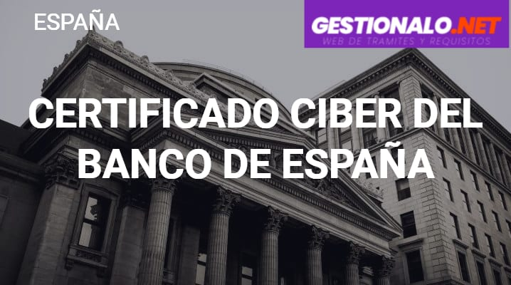 Certificado CIRBE del Banco de España
