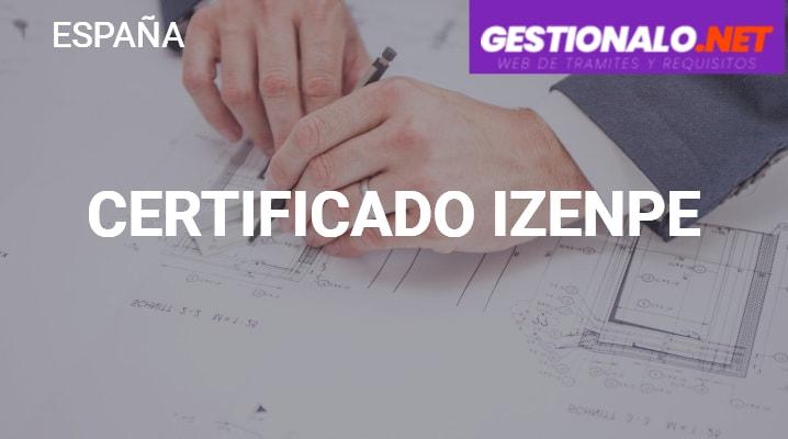 Certificado Izenpe