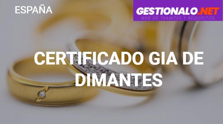 Certificado GIA de Diamantes