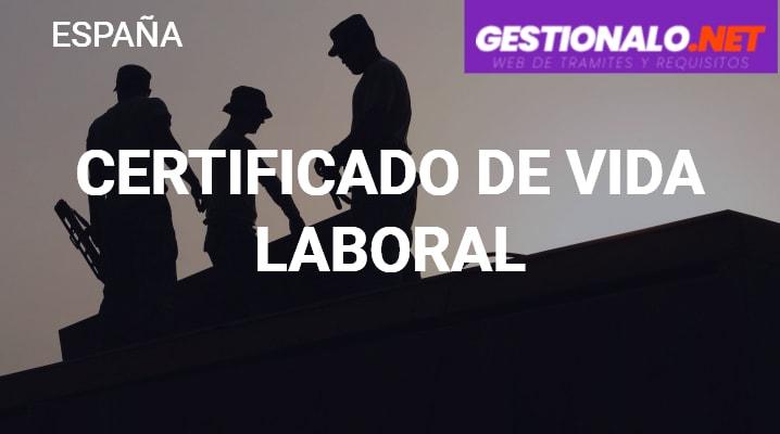 Certificado de Vida Laboral