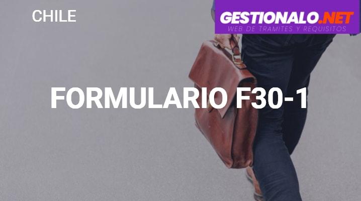 Formulario F30-1