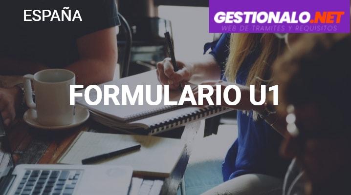 Formulario U1