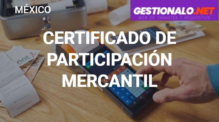 Certificado de Participación Mercantil