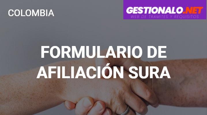 Formulario de Afiliación SURA