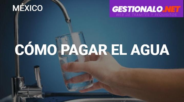 Cómo pagar el Agua