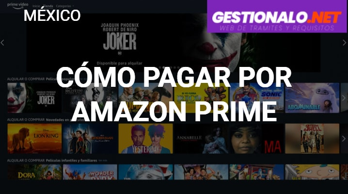 Cómo pagar por Amazon Prime