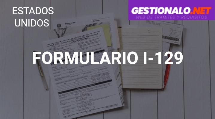 Formulario I-129