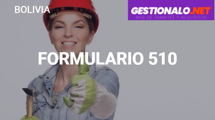 Formulario 510