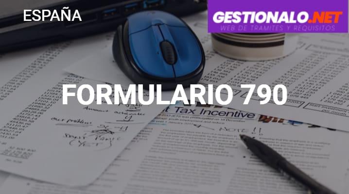 Formulario 790 (Código 012)