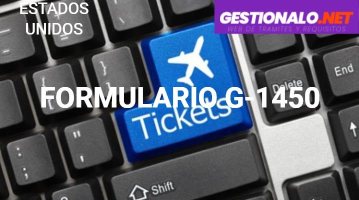 Formulario G-1450