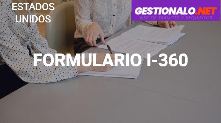 Formulario I-360