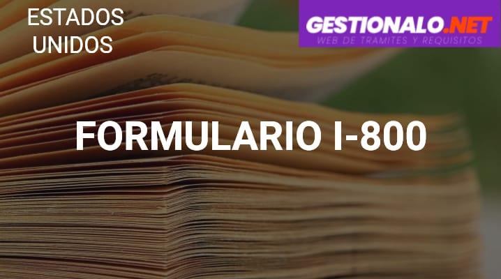 Formulario I-800
