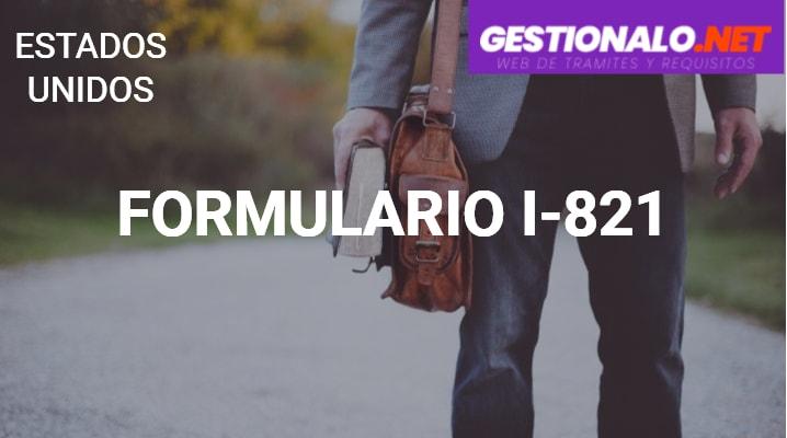 Formulario I-821