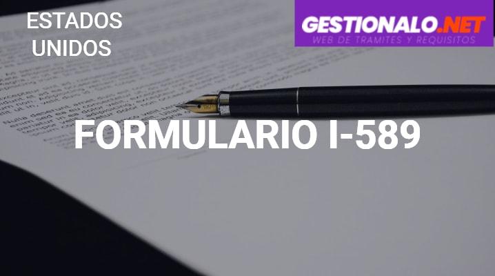 Formulario I-589