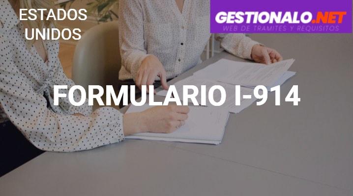 Formulario I-914
