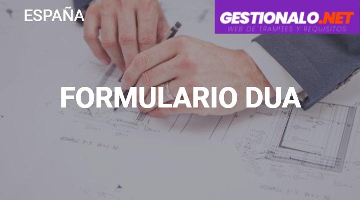 Formulario DUA