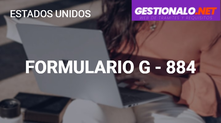 Formulario G-884