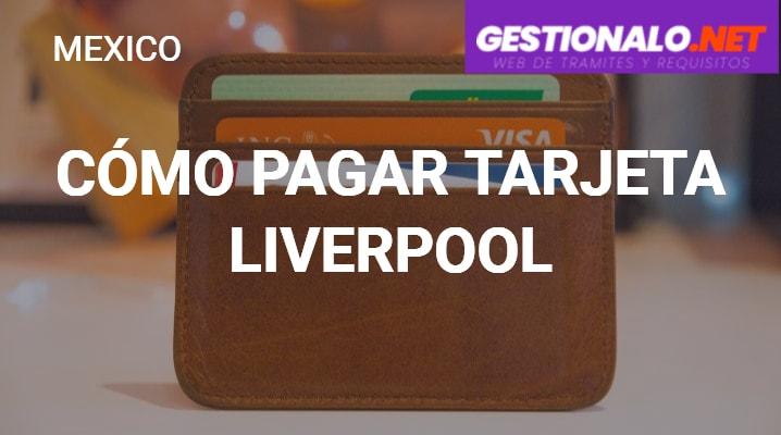 Cómo pagar tarjeta Liverpool