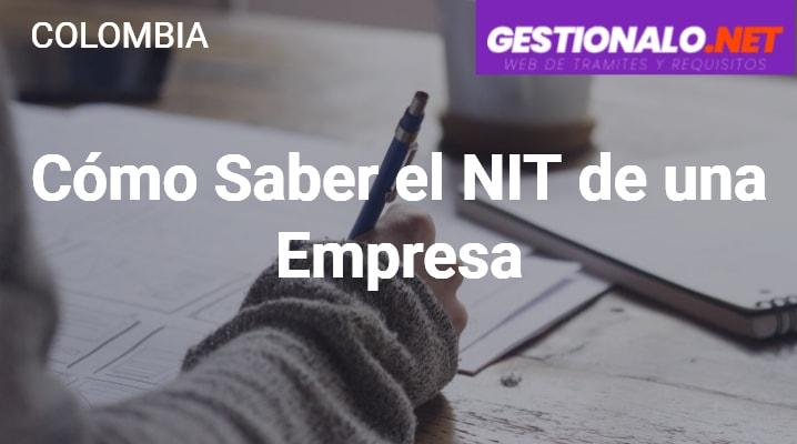 Cómo Saber el NIT de una Empresa