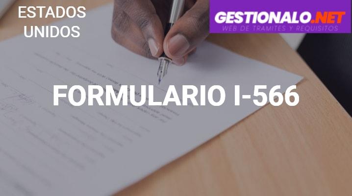 Formulario I-566