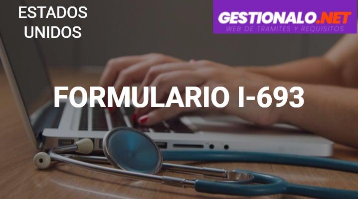 Formulario I-693