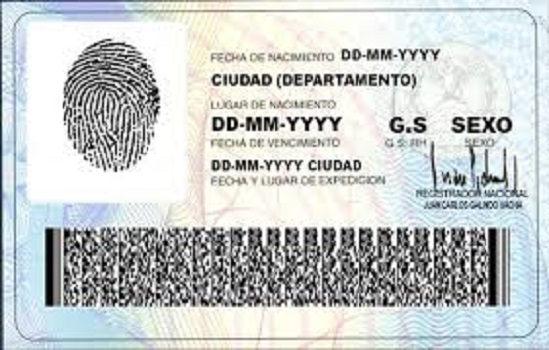 Modelo Tarjeta de Identidad