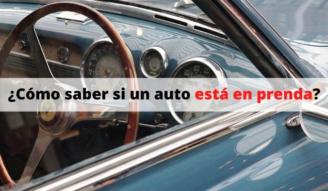 Auto en Prenda